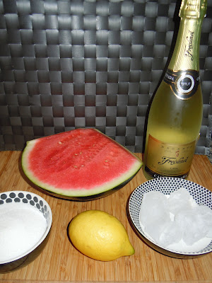 COCKTAIL DE SANDIA Y CAVA CON Thermomix®