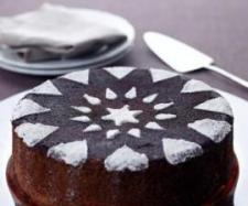 Pastel de calabaza al cacao