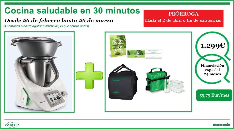 Edici n cocina saludable en 30 minutos 1299 noticias for Cocina saludable en 30 minutos thermomix