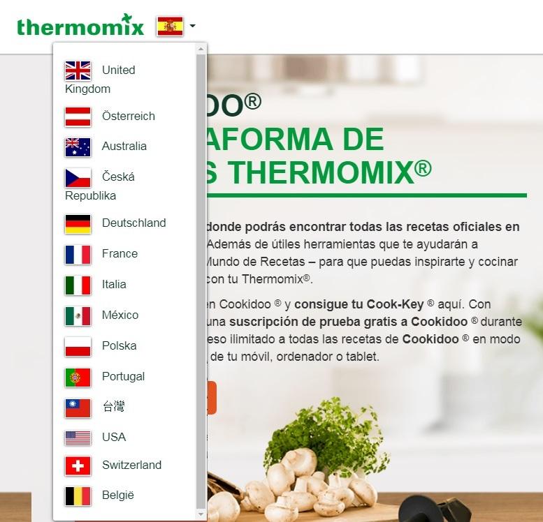 Cookidoo Plataforma De Recetas De Thermomix En 15 Países