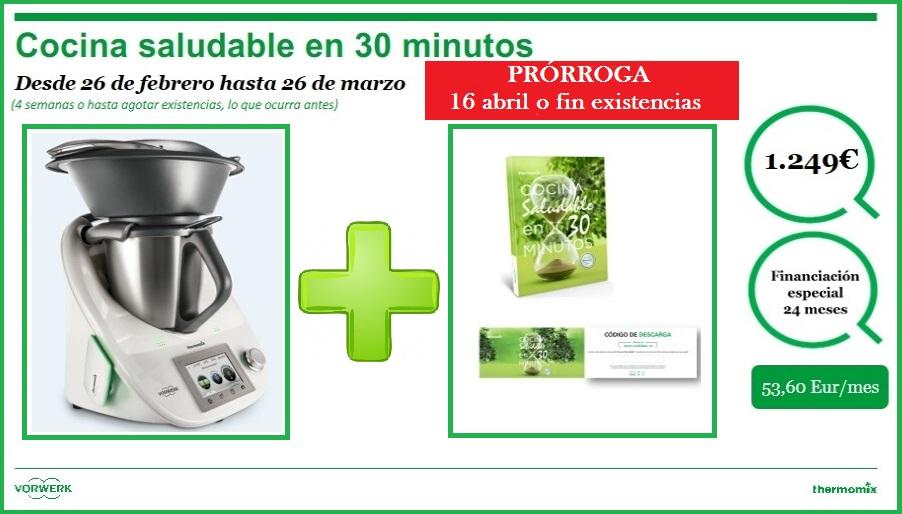 Edici n cocina saludable en 30 minutos 1249 noticias for Cocina saludable en 30 minutos thermomix