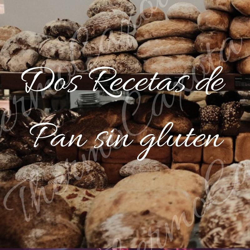 Dos Recetas De Pan Sin Gluten Con Thermomix Dietas