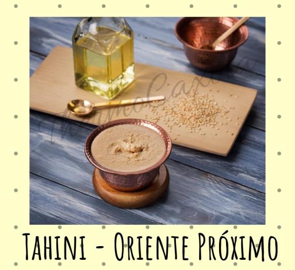 TAHINI CON Thermomix® - ORIENTE PRÓXIMO