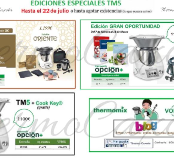 ¡ÚLTIMA HORA Thermomix® ! PROMOCIONES TM5