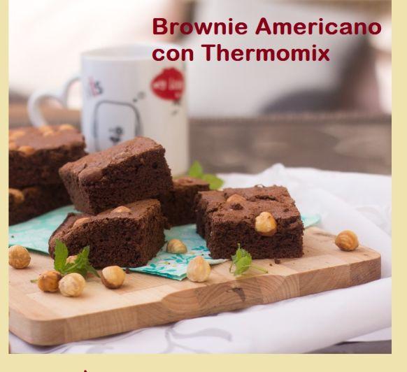 BROWNIE AMERICANO CON Thermomix®