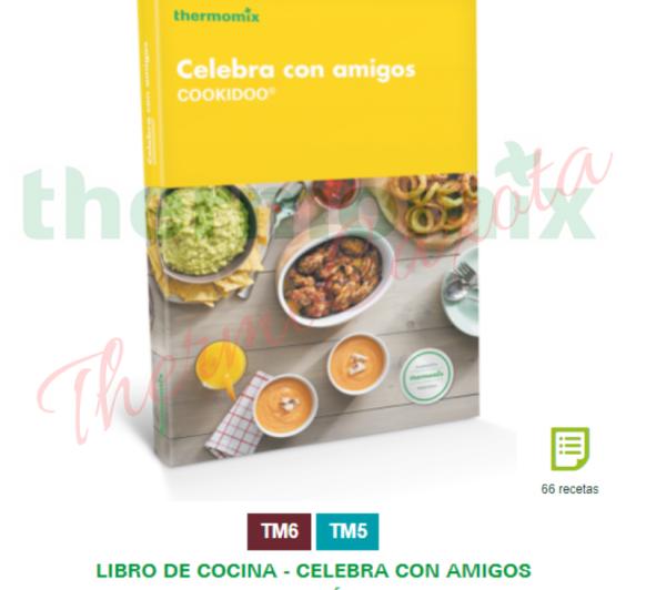 CELEBRA CON AMIGOS - Libro de cocina Thermomix® - Edición de bolsillo