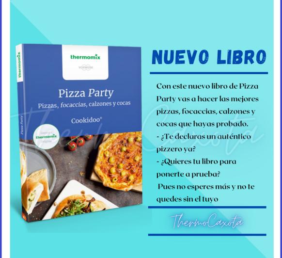 PIZZA PARTY COOKIDDO ® - Nuevo libro edición de bolsillo