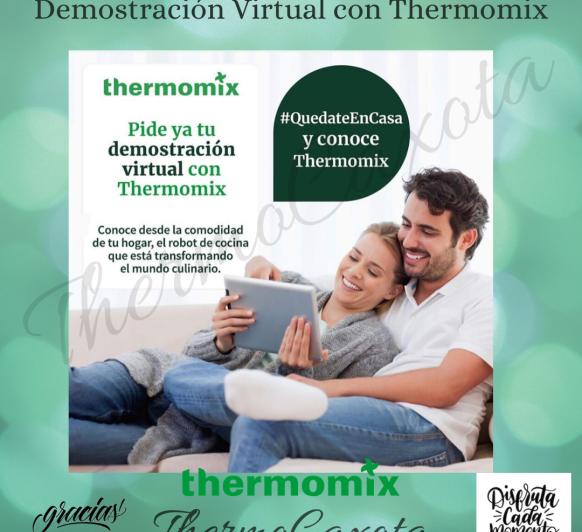 DEMOSTRACIÓN VIRTUAL Thermomix®