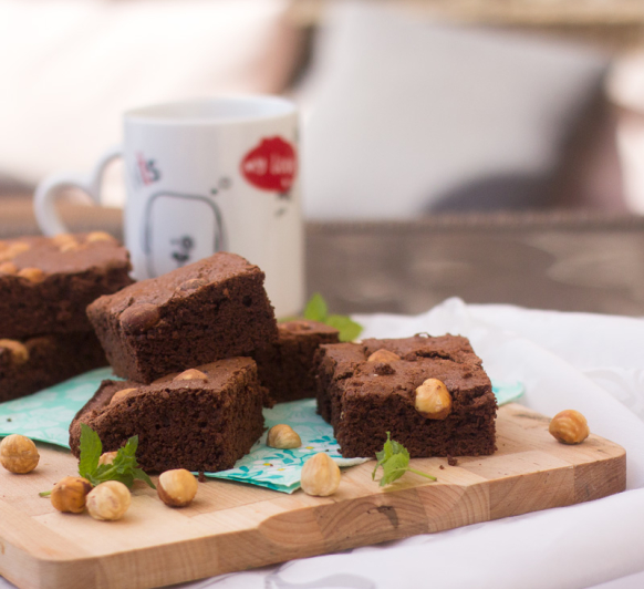 BROWNIE AMERICANO CON Thermomix®