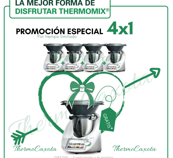 PROMO ESPECIAL 4x1 Thermomix®