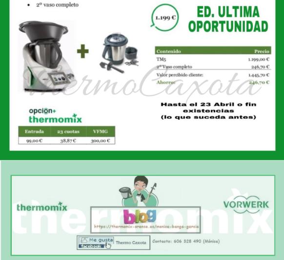 EDICIÓN ÚLTIMA OPORTUNIDAD - Thermomix® TM5