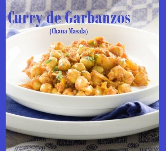 CURRY DE GARBANZOS - Chana Masala