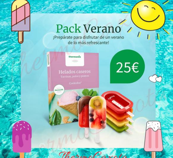 MOLDES PARA HELADOS Y LIBRO - PACK VERANO Thermomix®