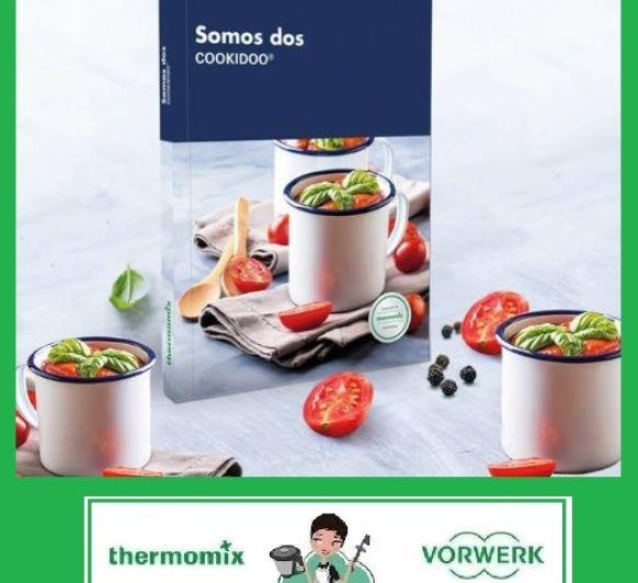 SOMOS DOS - COOKIDOO ® - Nuevo libro de recetas Thermomix® (edición bolsillo)