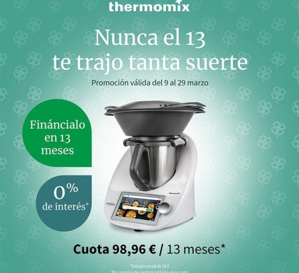 Thermomix® 0% comisiones en 12 meses
