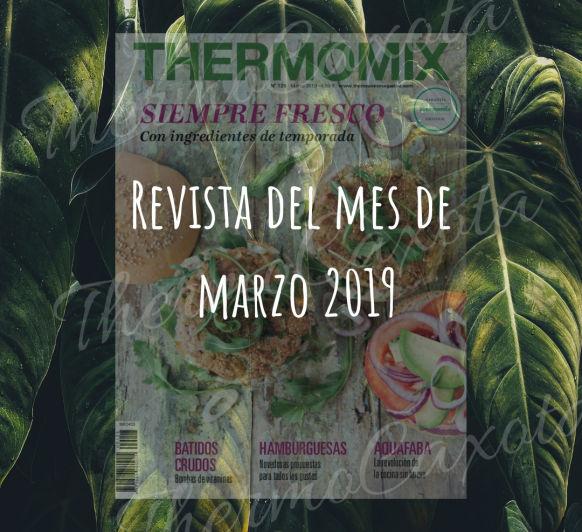 REVISTA Thermomix® Nº 125 - MARZO 2019