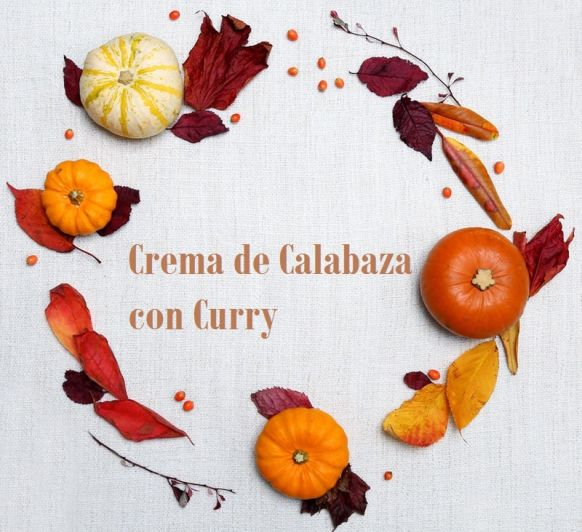 CREMA DE CALABAZA CON CURRY