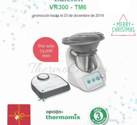 PROMOCIÓN Thermomix® TM6 + ROBOT ASPIRADOR KOVOLD - ¿COCINAR Y LIMPIAR AL MISMO TIEMPO?... Ya es posible