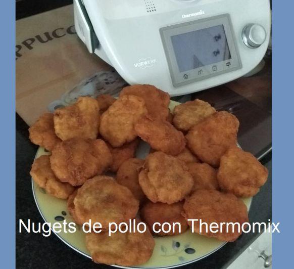 NUGETS DE POLLO CON Thermomix®