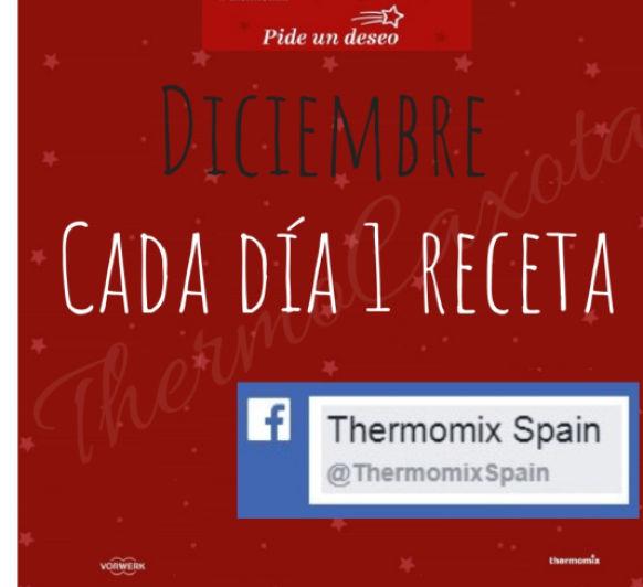 DICIEMBRE - Cada día una receta Thermomix®