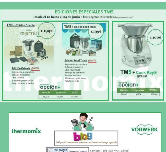 ESCOGE TU Thermomix® TM5 EN PROMOCIÓN