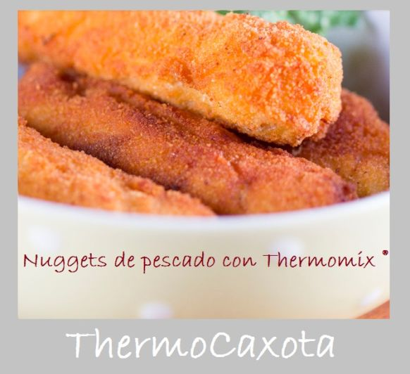 NUGGETS DE PESCADO CON Thermomix®