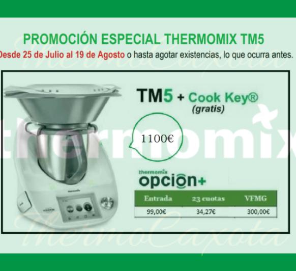 PROMOCIÓN ESPECIAL TM5 - COOKKEY DE REGALO