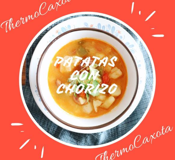 Patatas con chorizo con Thermomix®