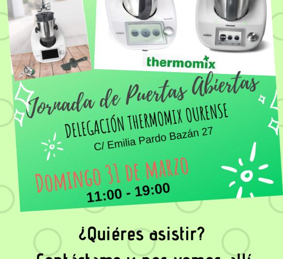 JORNADA PUERTAS ABIERTAS Thermomix® EN OURENSE