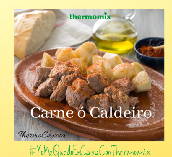 CARNE O CALDEIRO CON Thermomix®