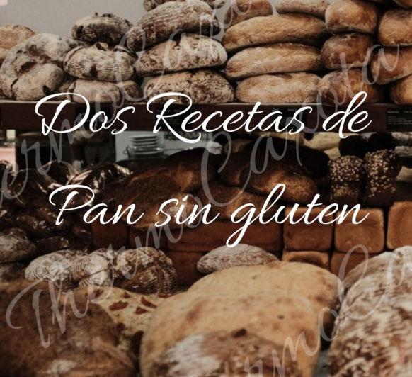 Dos recetas de pan sin gluten con Thermomix®