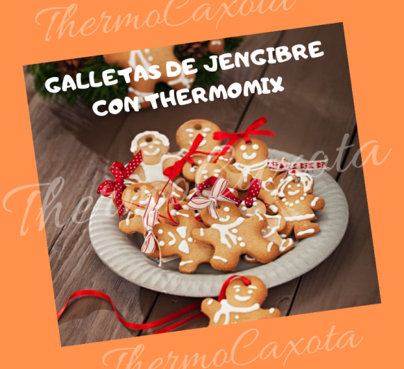DIA 20 - GALLETAS DE JENGIBRE CON Thermomix®