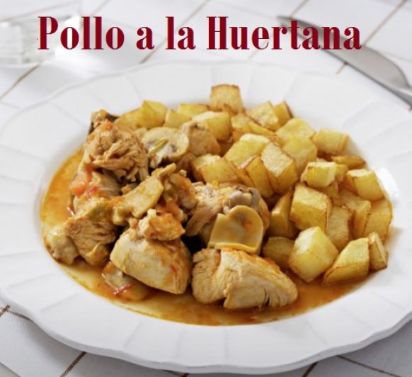 POLLO A LA HUERTANA