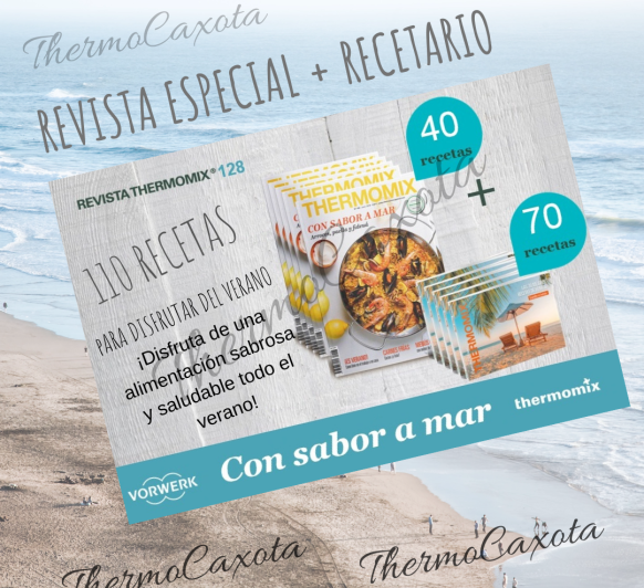 CON SABOR A MAR. ARROCES, PAELLA Y FIDEUÁ - REVISTA Thermomix® Nº 128 - Junio 2019