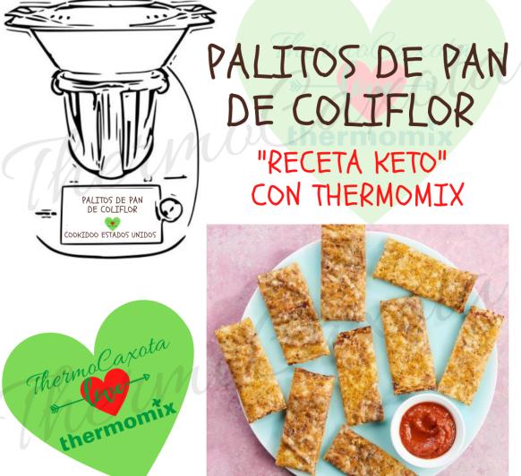 PALITOS DE PAN DE COLIFLOR