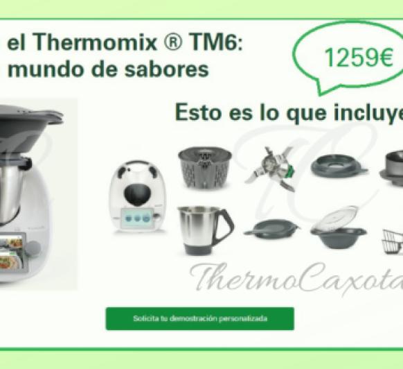 DESCUBRE EL Thermomix® TM6 - Novedades