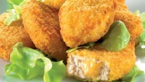 Nuggets de pollo caseras con Thermomix®